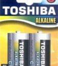 Μπαταρία Αλκαλική AA TOSHIBA