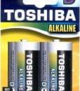 Μπαταρία Αλκαλική D TOSHIBA