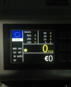 Καταμετρητής - Ανιχνευτής Χαρτονομισμάτων USD SUPRA 3000