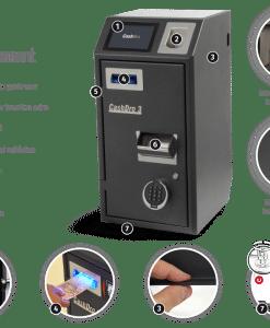 Ηλεκτρονικό Συρτάρι Ασφαλείας CashDro3